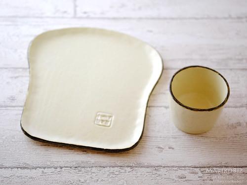 陶芸 食パン皿 湯飲み20160215-DSCF7314