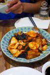 Eggplants and Octopus with Soy Bean Paste, $18.80: 257 Home Kitchen, Eastwood. Sydney Food Blog Review