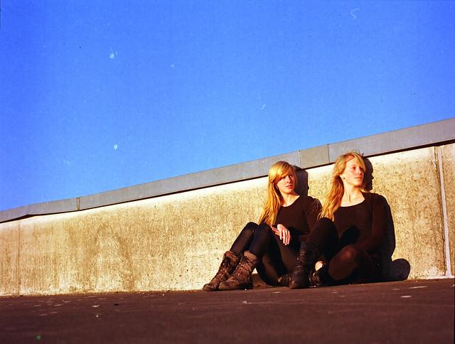 Daniela and Jessica
