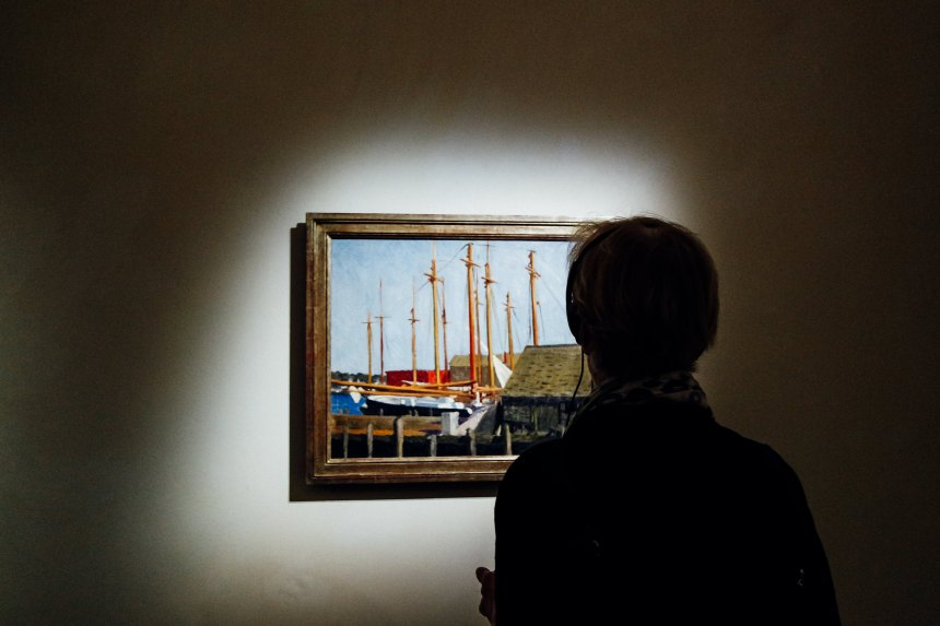 Barche a vela (Hopper)