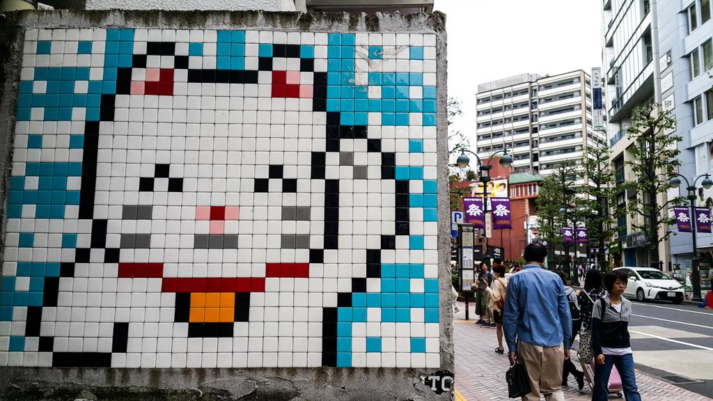 tokyo japan | shibuya lucky cats maneki-neko