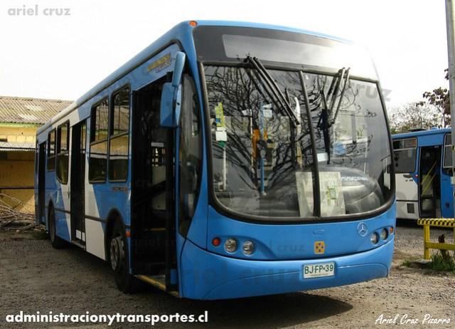Transantiago (E12) - Unitran - Busscar Urbanuss Pluss / Mercedes Benz (BJFP39)