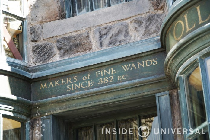 The Wizarding World of Harry Potter at Universal Studios Hollywood - Olivanders