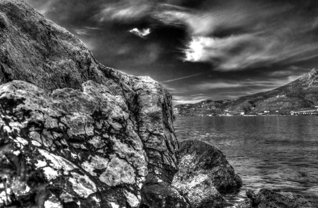 Salty rocks