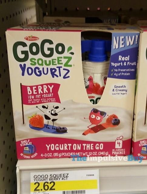 Materne Berry GoGo Squeez Yogurtz