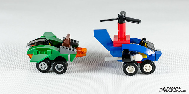REVIEW LEGO 76064 Mighty Micros Spider-Man vs Green Goblin (HelloBricks)