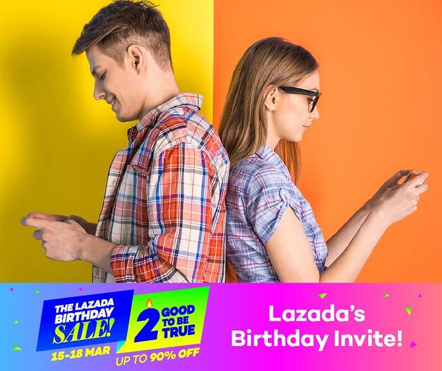 Lazada Singapore Birthday