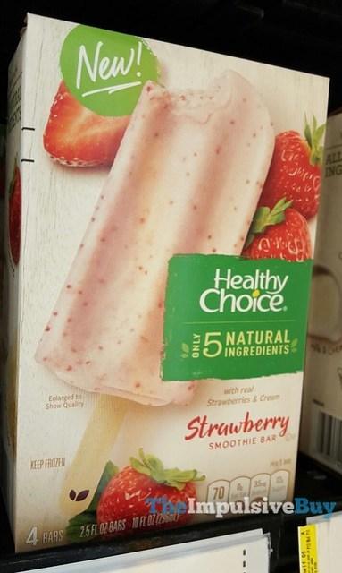 Healthy Choice Strawberry Smoothie Bar