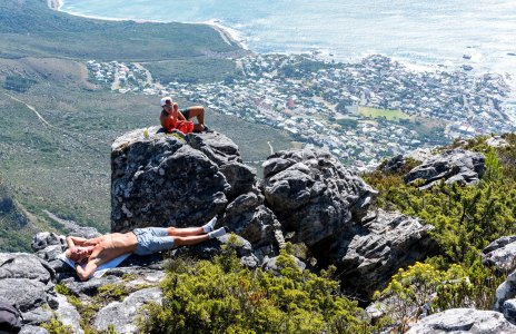 Table Mountain - Tanning?