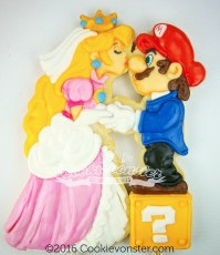 Mario Bros wedding