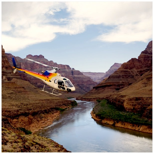 Helicoptero Gran Canyon