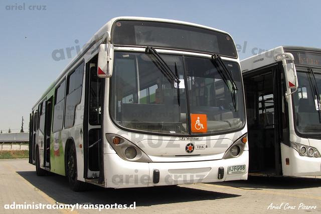 Transantiago - Subus Chile - Marcopolo Gran Viale / Volvo (BJFG88) (7216)