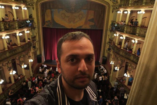 zaid inside amazonas theater manaus