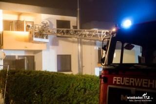 Zimmer- / Wohnhausbrand in Bad Schwalbach 10.01.16