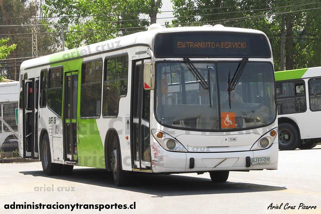 Transantiago - Subus - Marcopolo Gran Viale / Volvo (BJFF26) (7198)