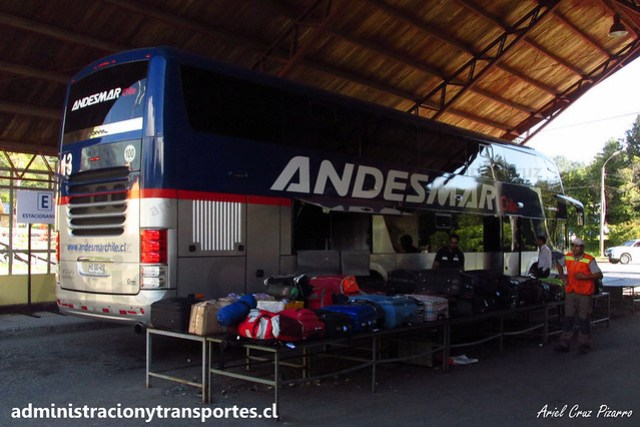 Andesmar Chile - Aduana Chilena - Comil Campione DD / Volvo (HSGG45) (13)