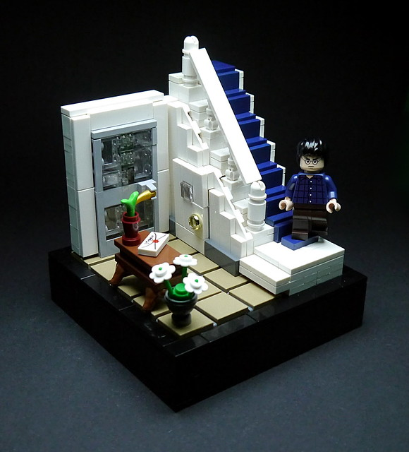LEGO Harry Potter vignettes #001 - Privet Drive No. 4
