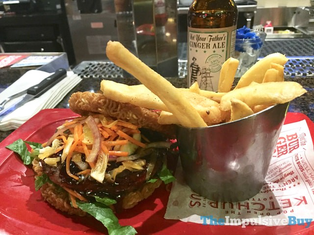 Red Robin Red Ramen Burger 4