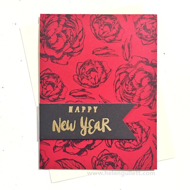 Chinese New Year - Card 1 --> http://helengullett.com/?p=8371 #ctmh #closetomyheart #sotmjanuary2016 #belovedbouquet #chinesenewyearcard #cardmaking #handmadecard