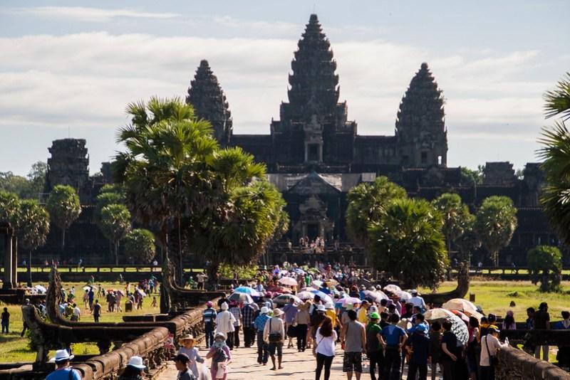 Angkor Vat bei Tag
