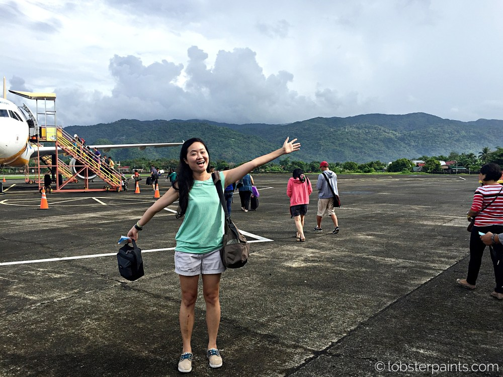 14 October 2015: Virac Airport   Catanduanes, Bicol, Philippines