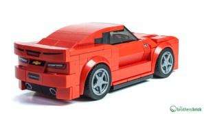 75874 Chevrolet Camaro Drag Race