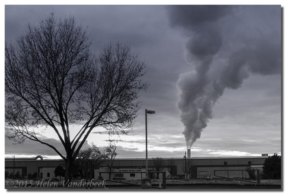 Steam Plumes