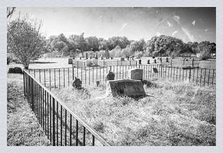 American Spinng Cemetery B&W