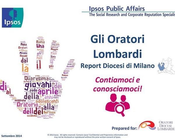 Risultati della Ricerca sugli Oratori - Diocesi di Milano