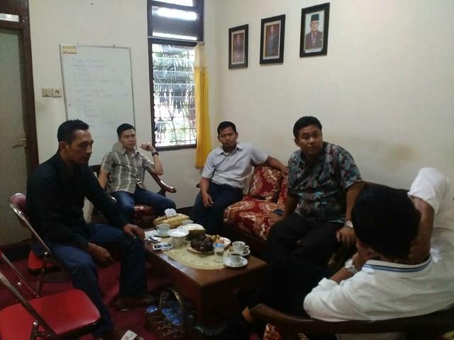 Supervisi KPU Prov. Jatim (19/4)