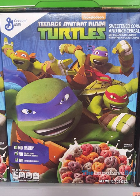 General Mills Nickelodeon Teenage Mutant Ninja Turtles Cereal