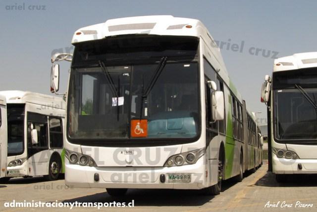 Transantiago - Subus Chile - Caio Mondego LA / Volvo (WA9989) (9291)