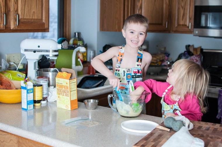 Pancake Making 4