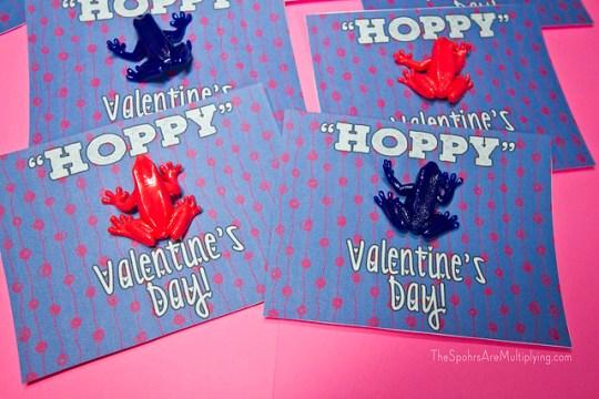 Hoppy Valentine's Day Printable