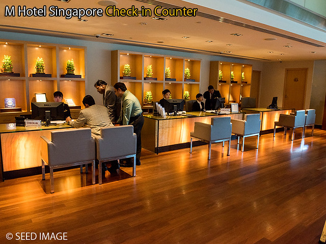 M Hotel Singapore Check in