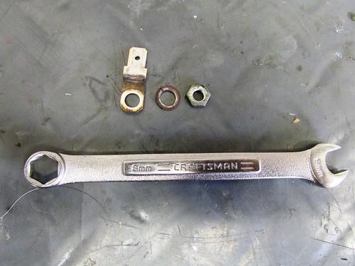 Brush Terminal Parts Order (Terminal, Washer, Nut)