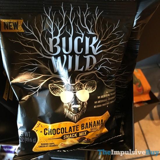 Buck Wild Chocolate Banana Snack Mix