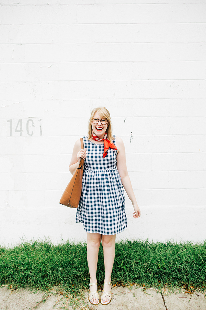 gingham-dress-silk-scarf8