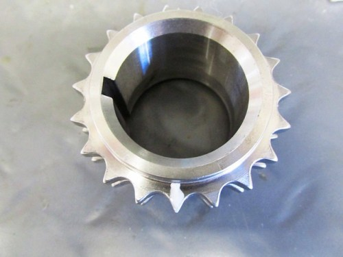 New Sprocket With Paint Mark