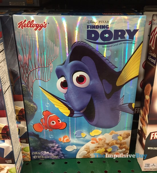 Kellogg's Finding Dory Cereal