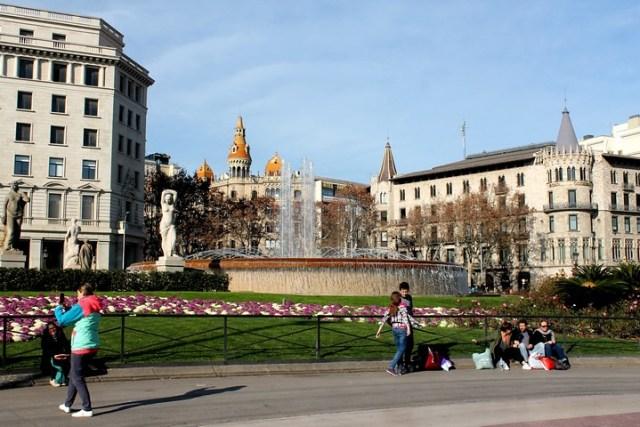 Plaza de Catalunya de Barcelona