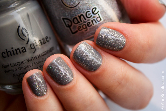 02 China Glaze Recycle + Dance Legend Steel Panther Wow Prism Collection Ann Sokolova swatches
