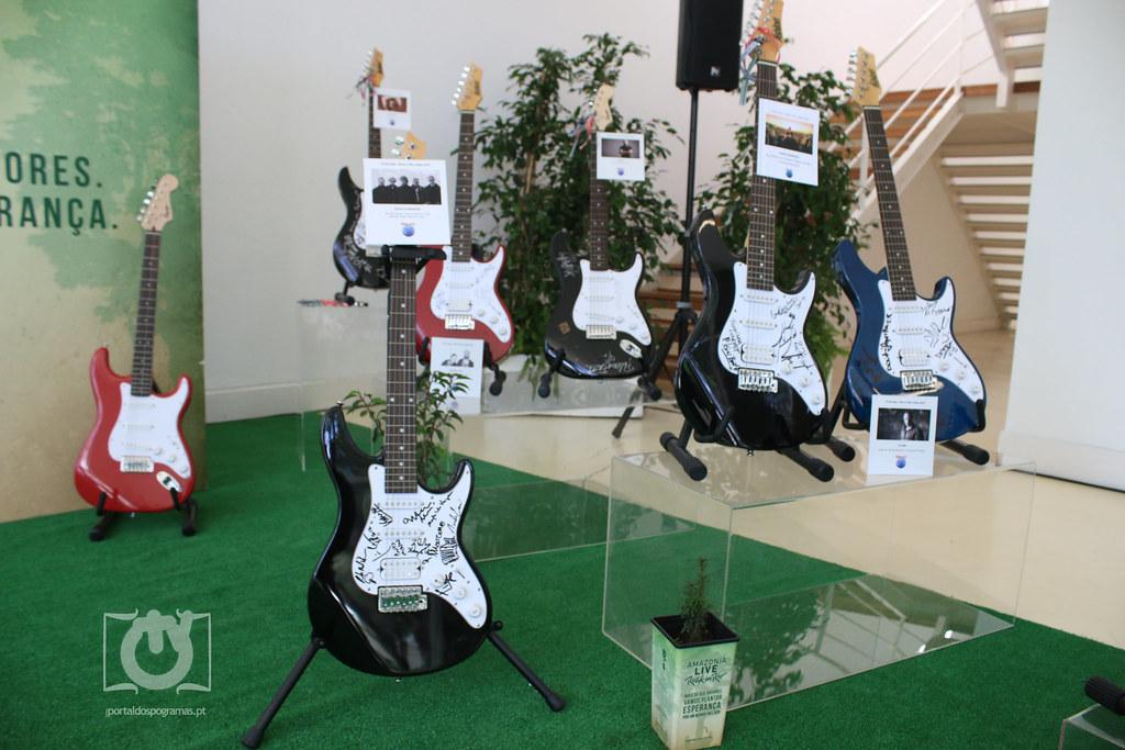 Leilão de Guitarras Rock In Rio - Amazonia Live Rock In Rio