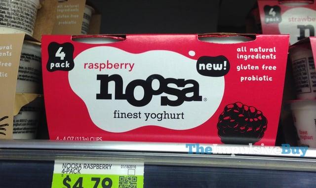 Raspberry Noosa Yoghurt 4-Pack
