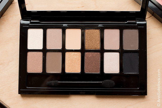 02 Maybelline The Nudes swatches