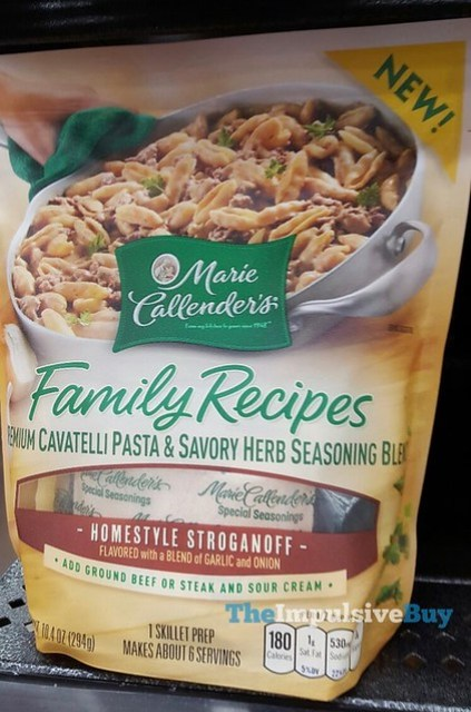 Marie Callender's Family Recipes Homestyle Stroganoff
