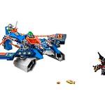 LEGO Nexo Knights Aaron Fox's Aero-Striker V2 (70320)