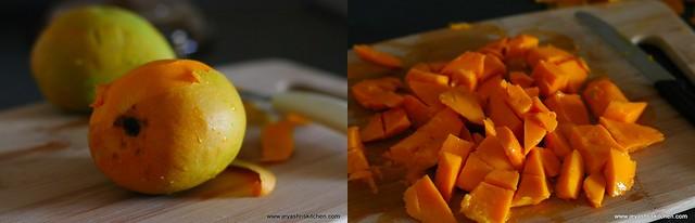 mango pachadi 1