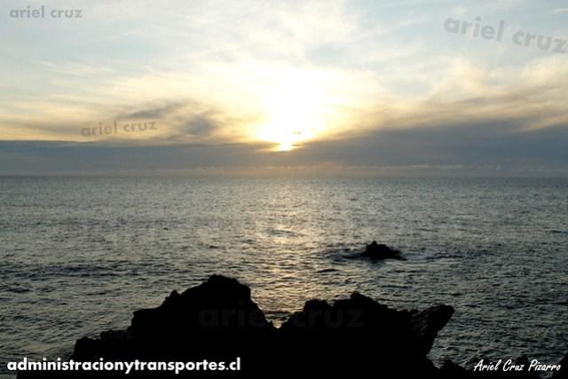 Atardecer - Isla de Pascua