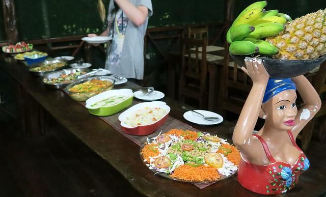 amazon tupana lodge dinner buffet